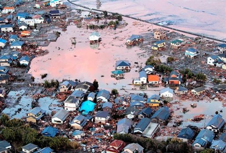 Tsunami japon. Foto:Eitb