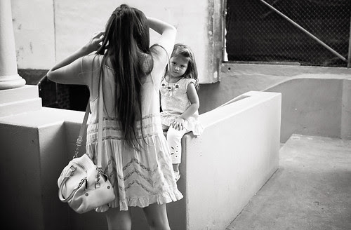 Mother And Daughter by Jesse Acosta