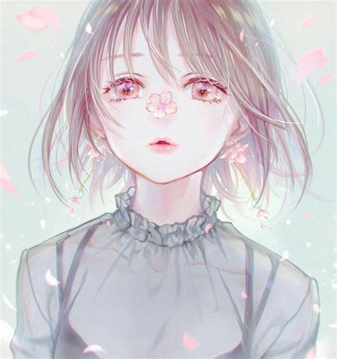 violett  twitter sakura girl anime kawaii