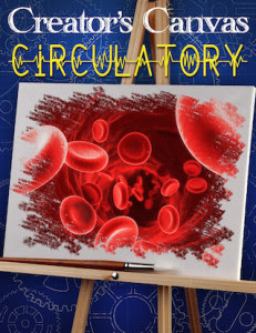 Creator's Canvas Circulatory Poster