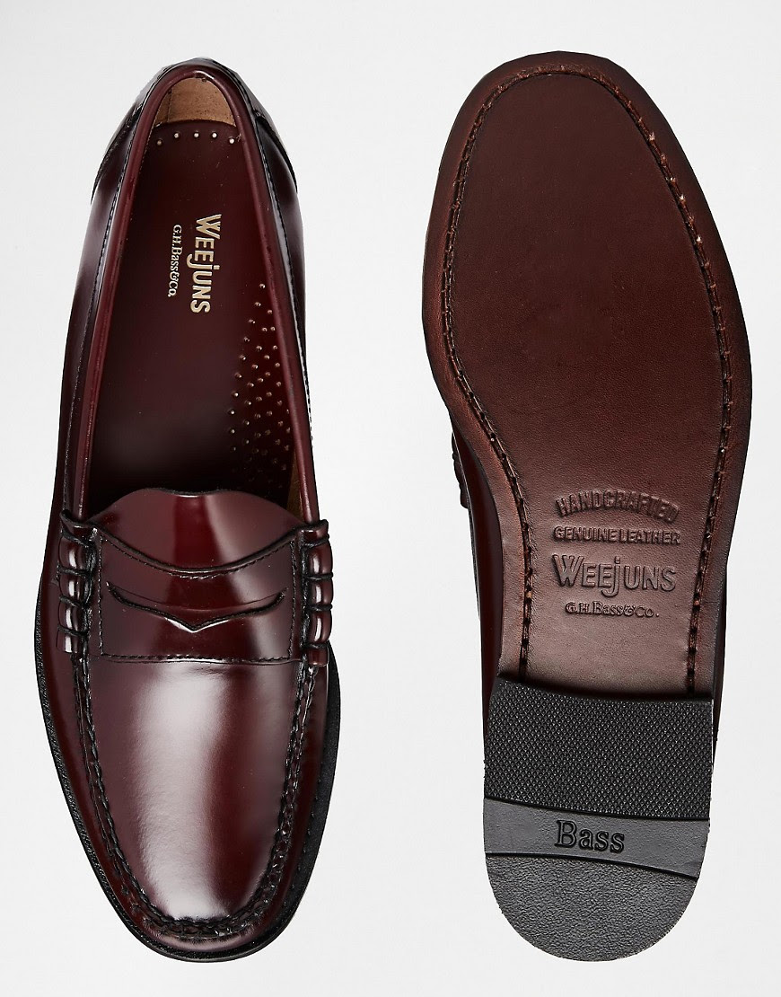 G.H. Bass | GH Bass Larson Penny Loafers at ASOS