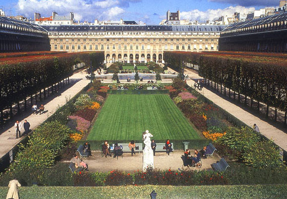 Jardin Du Palais Royal Paris Walking Tours