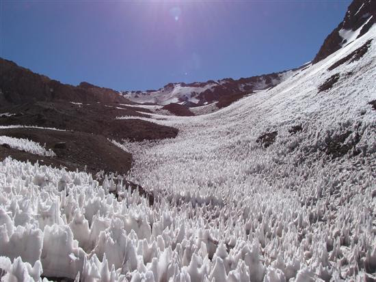 Penitentes Chile Argentina 1 12 Natural Ice Wonders Pictures visto na www.VyperLook.com