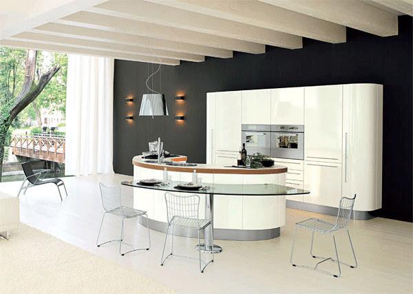 Desain Dapur dan Ruang Makan Terbuka  6 Desain  Rumah