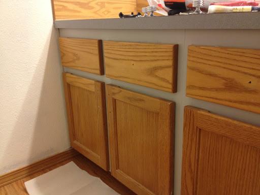 Refinishing a Wood Bathroom Vanity (Part 1): Preparation ...