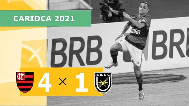 Gols do Flamengo 4 x 1 Volta Redonda – 08/05 – Campeonato Carioca 2021