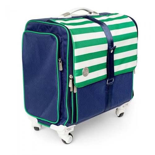 We R Memory Keepers - Crafter's Bags - Fold-Up - Navy