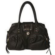 Botkier Bianca Handbag in Black Lambskin