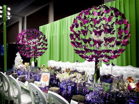 Butterfly Centerpieces by JoseDesigns.com: BizBash Expo