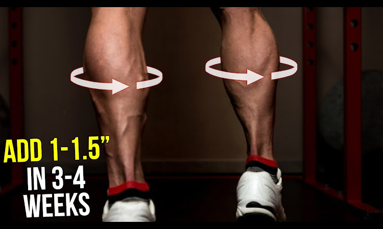 """How To Get Bigger Calves (Grow 1-1.5"""" in 3-4 Weeks At Home!!)"""
