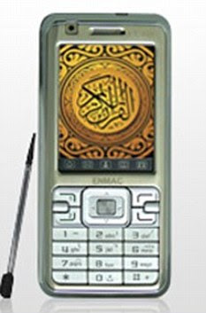 Top app: The Enmac (similar to the one pictured) comes with the Koran already downloaded