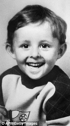 (FILES) - This undated photo received on October 16, 1984 shows murdered French boy Gregory Villemin, 4.
