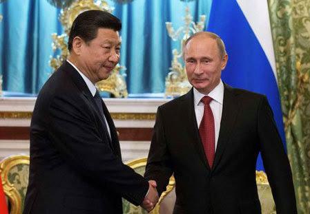 Trung Quốc, Nga, phương Tây