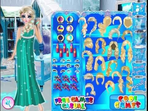 juegos de vestir a elsa : Juego: Vestir Elsa Embarazada