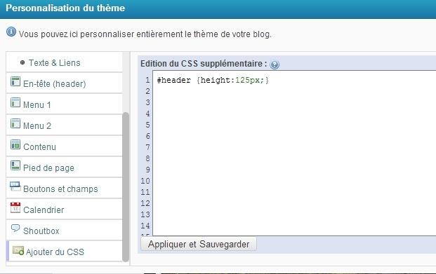 Ajouter du CSS