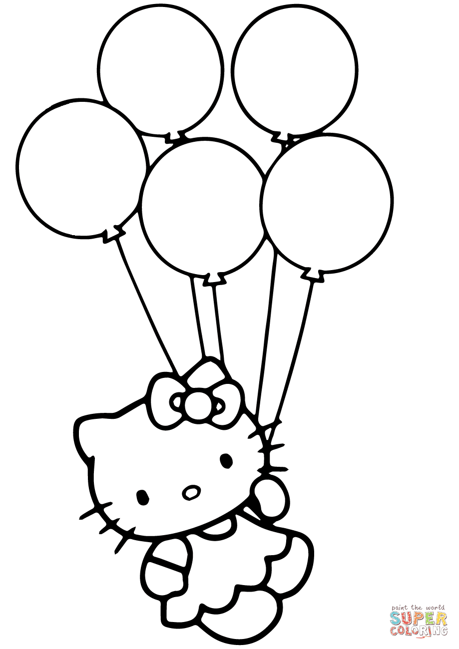 5800 Colouring Pages Of Balloon  Images