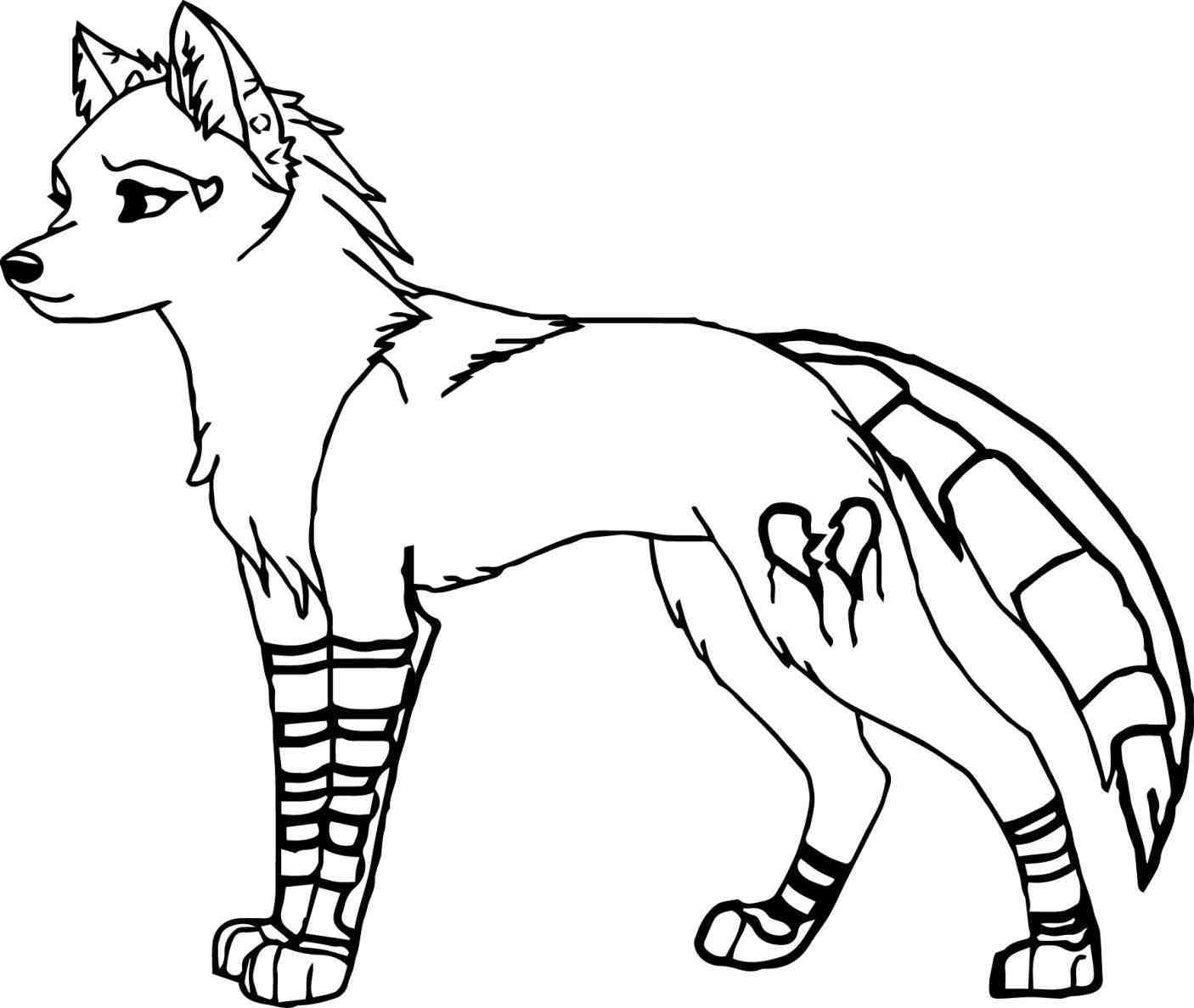 Wolf Drawing Easy at GetDrawings | Free download