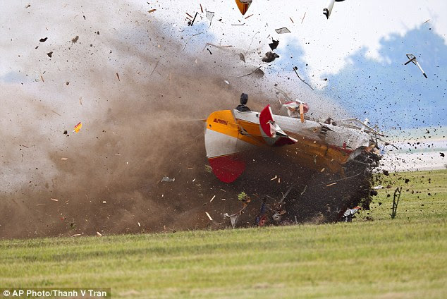 Terror: Witnesses describe hearing screams before the plane crashed