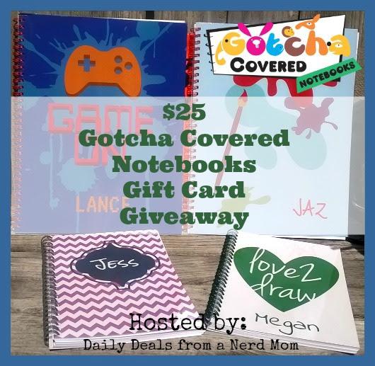 Gotcha Covered Notebooks