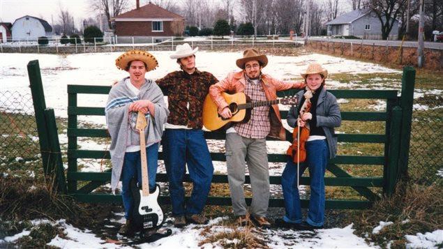 Les Cowboys Fringants en 1996