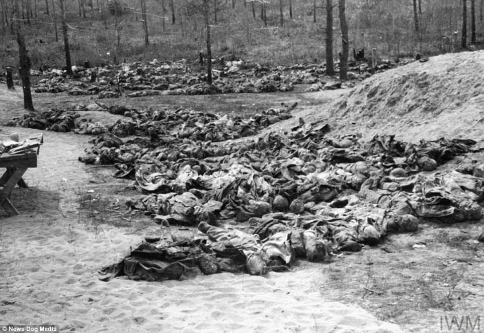 The bodies of hundreds of Polish people lie dead in a mass grave in Katyn, Poland. By the time the last Soviet gulag closed its gates, millions had died. Some worked themselves to death, some had starved, and others were simply dragged out into the woods and shot