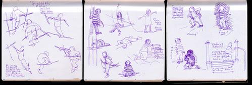 January 2012: Playground Kids by apple-pine