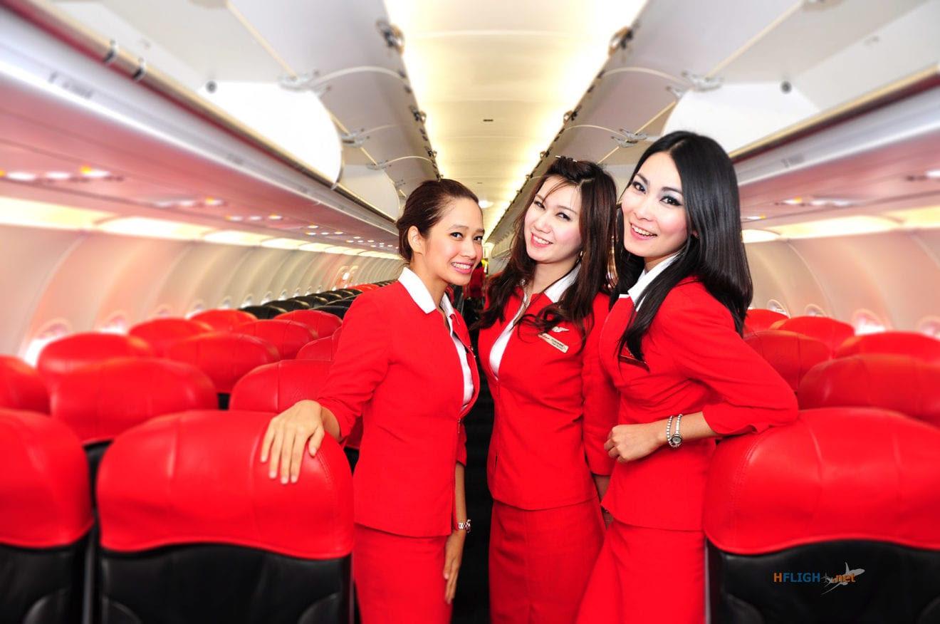 Thai AirAsia Air Stewardess