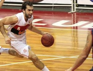 benite flamengo nbb basquete (Foto: Fernando Azevedo/Fla Imagem)