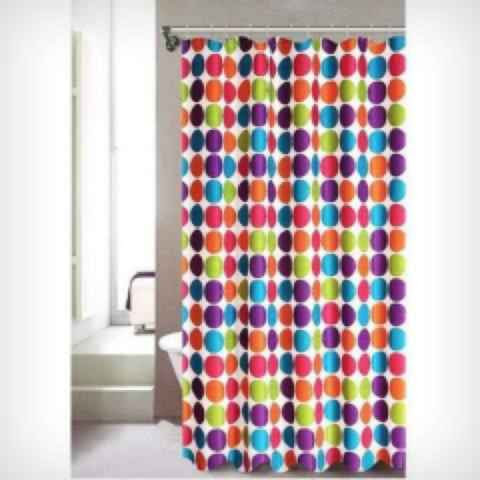 Printed Shower Curtain - Assorted Styles
