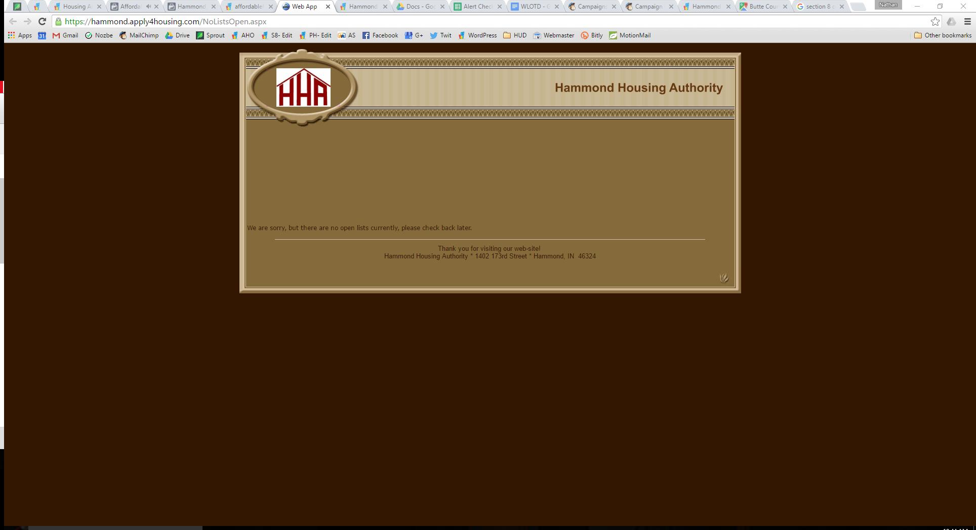 Hammond Housing Authority, Hammond, Indiana - Affordable Housing ...