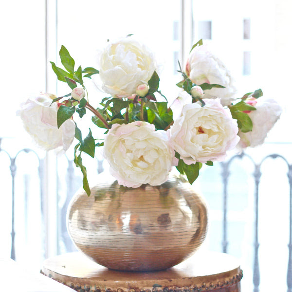 Luxury Artificial Mixed Peonies Bouquet Amaranthine Blooms