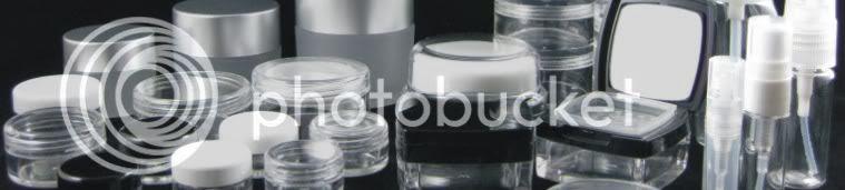 Beauty Makeup Supply Jars & Bottles