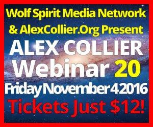 Alex Collier's TWENTIETH Webinar *LIVE* - November 4, 2016!