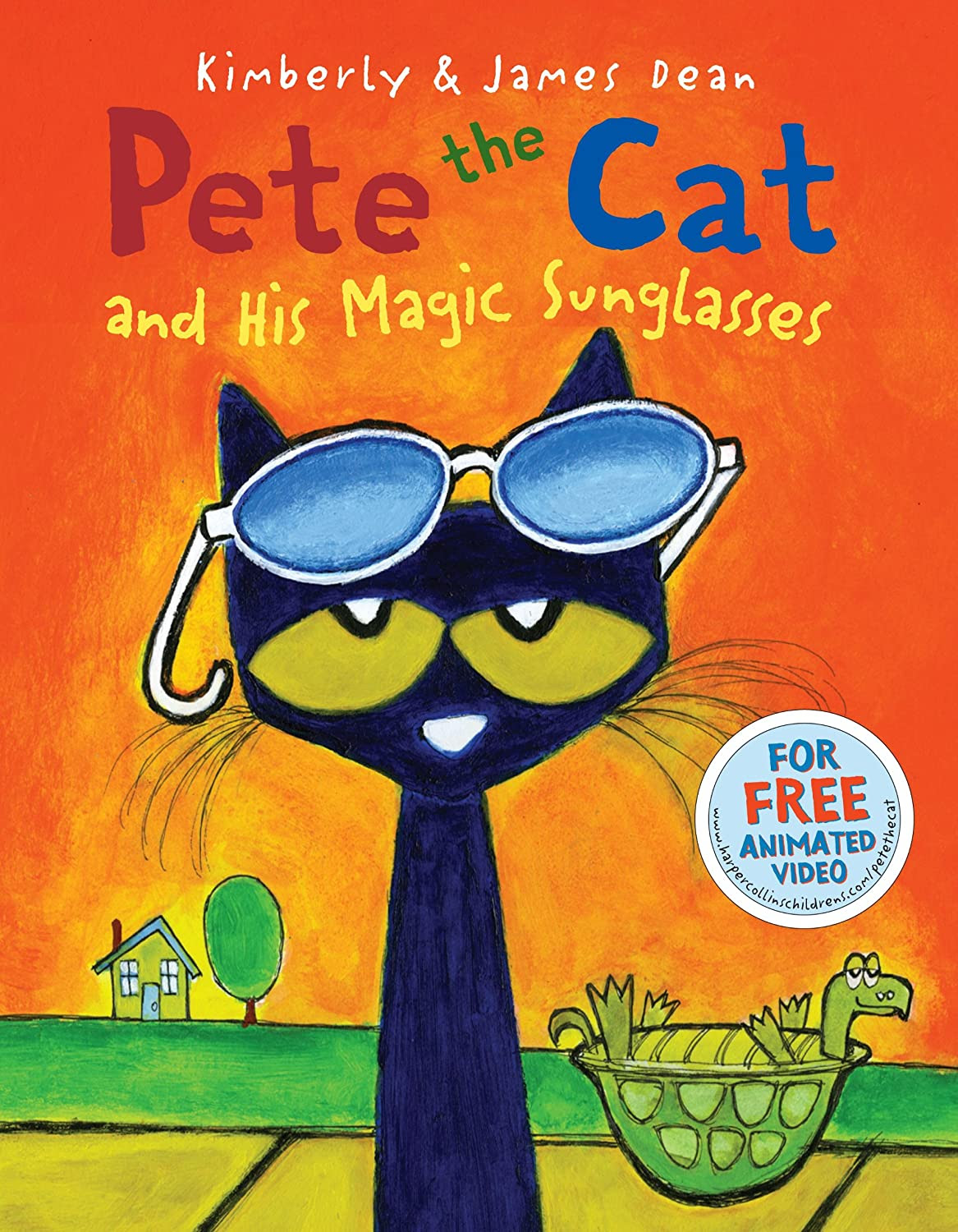 Pete the Cat and His Magic Sunglasses  {Reading List}