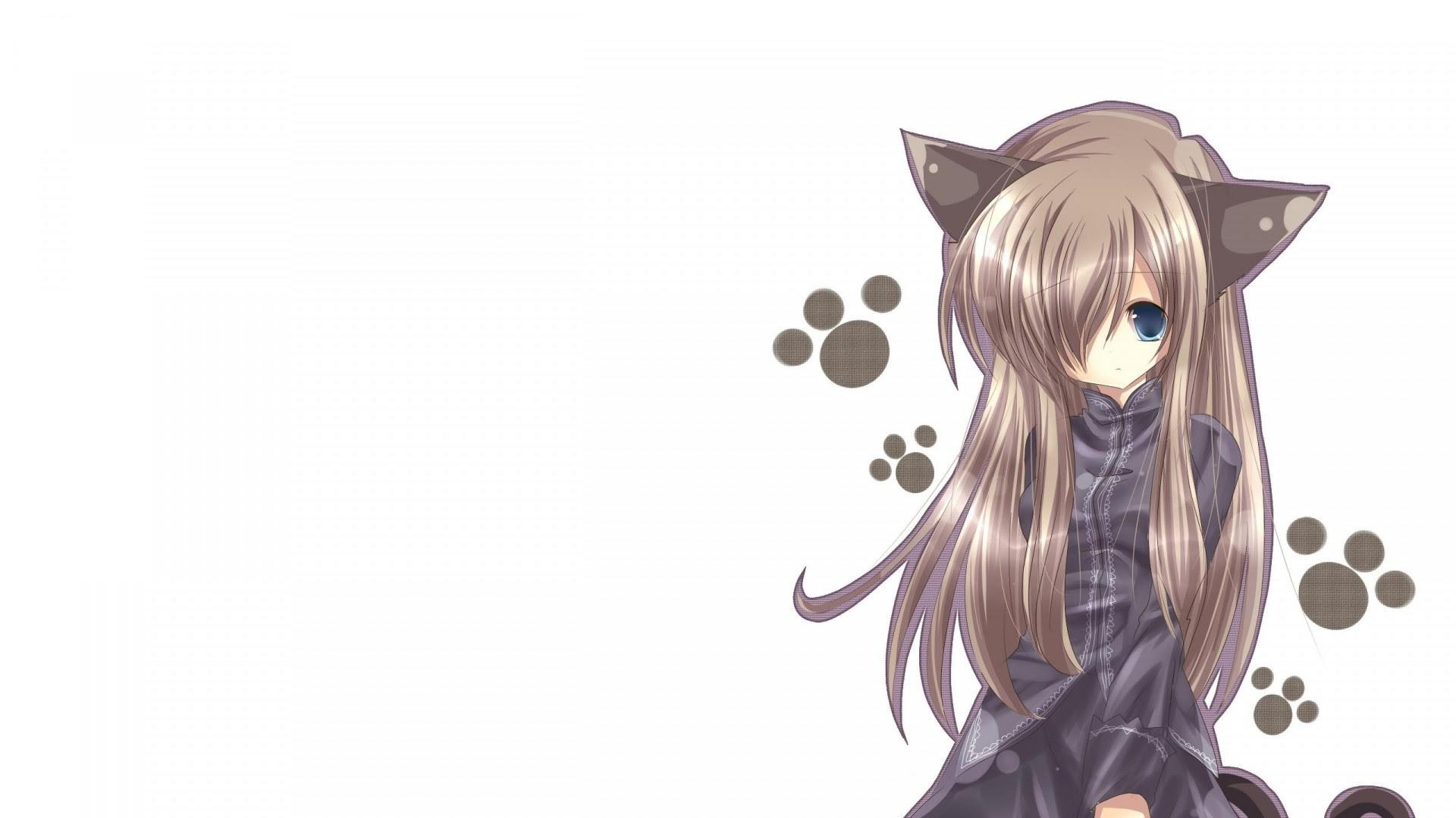 Anime Cat Girl Wallpaper 1920x1080