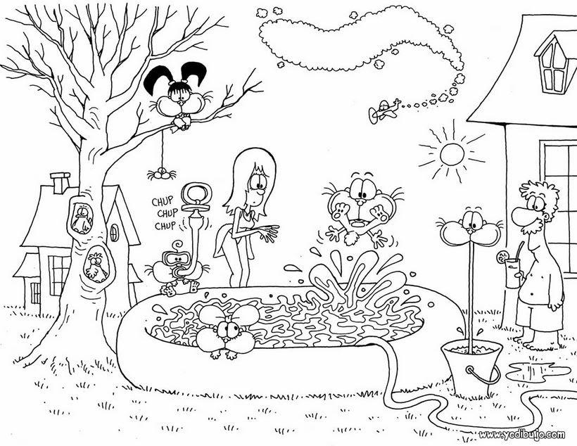 Dibujos Para Colorear Gaturro 16 Dibujos Infantiles Para Colorear