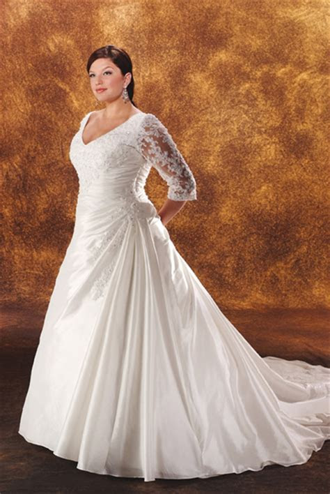 plus size wedding gowns with sleeves   Enter your blog
