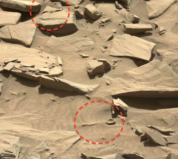 Mars-Spoon proves life was once on Mars