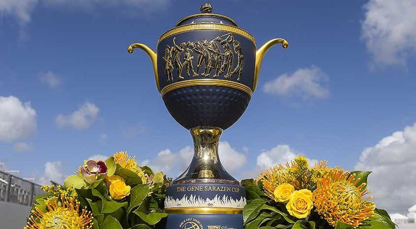 WGC-Mexico trophy