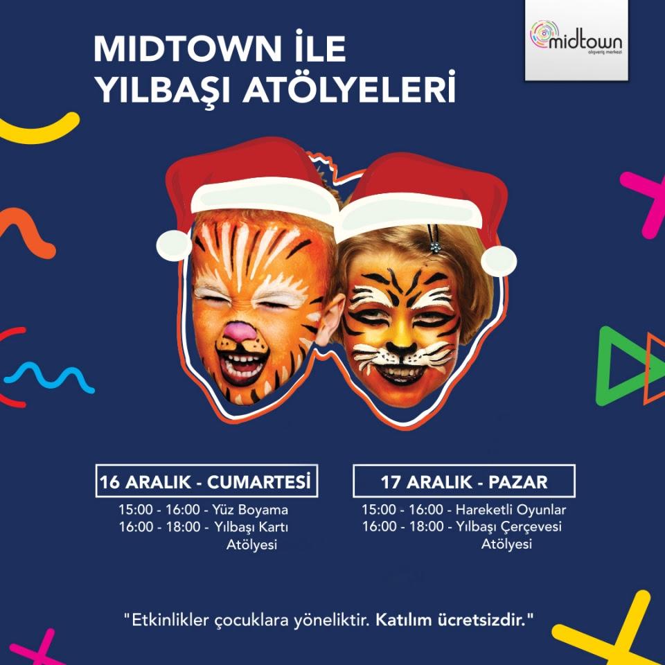 Midtowndan çocuklara özel Yılbaşı Atölyeleri Yarımada Gazetesi