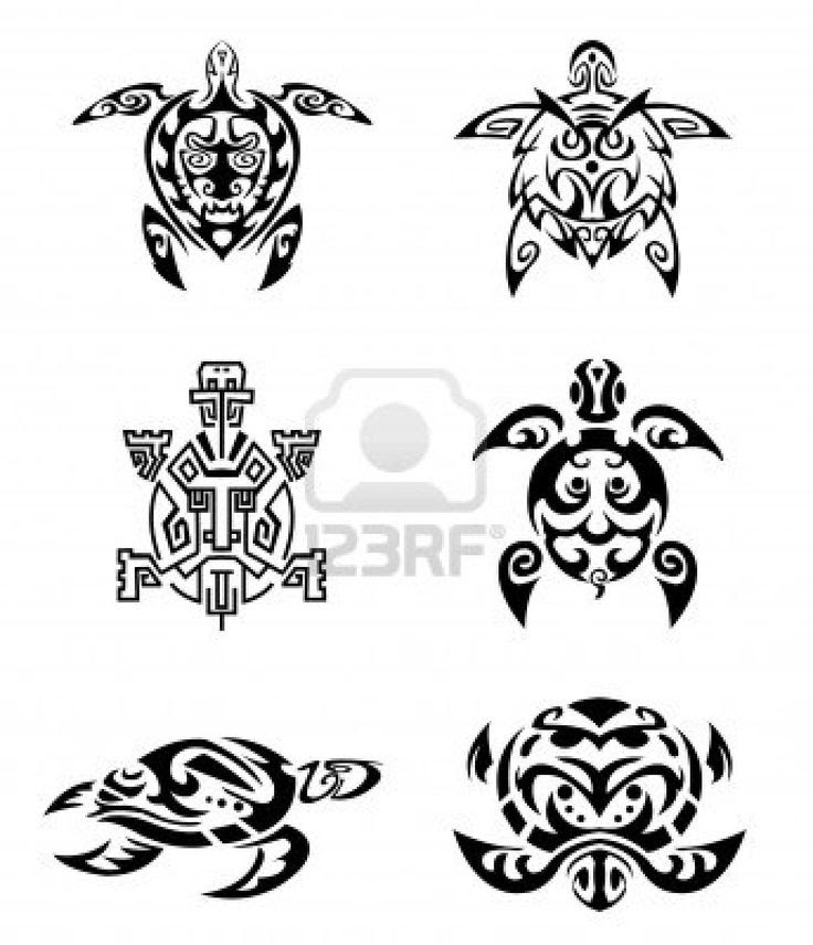 Turtle Tattoos Best Tribal Design Gallery