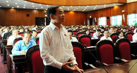 bỏ phiếu tín nhiệm, ĐBQH, Lê Thanh Vân