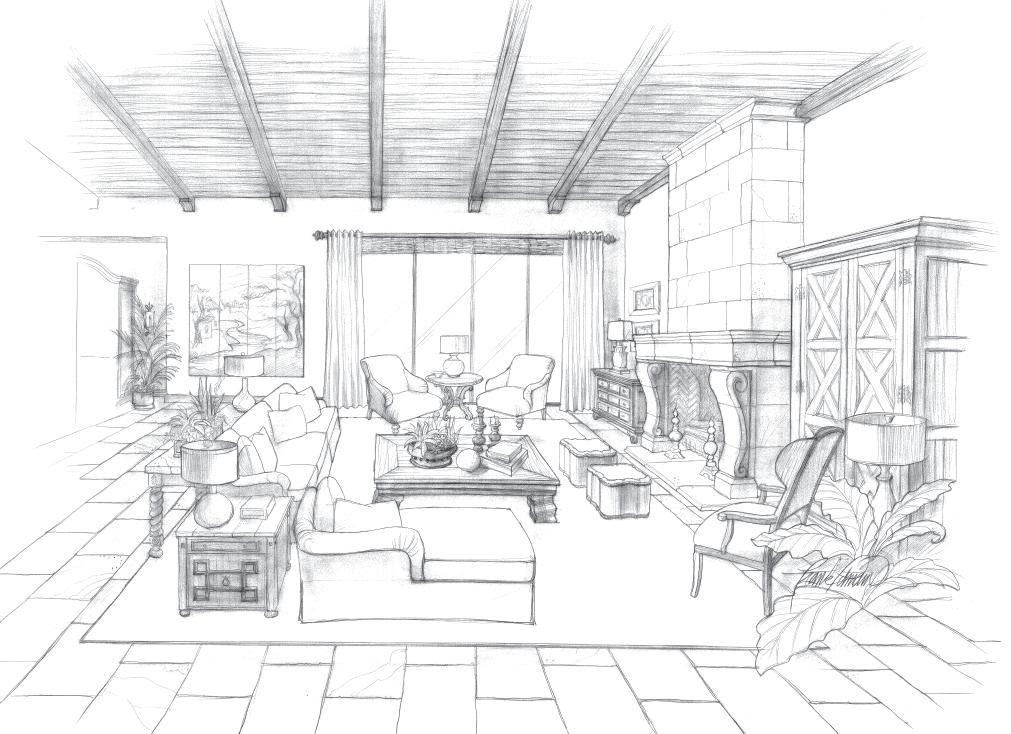 25+ best ideas about Interior design sketches on Pinterest ...