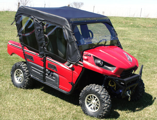 Kawasaki Teryx 4 Full Cab Enclosure For Your Existing Windshield