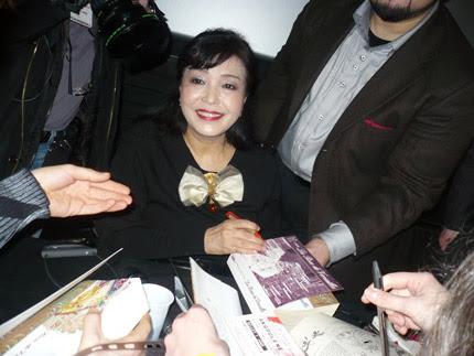 Riyoko Ikeda sensei at Angouleme 2011
