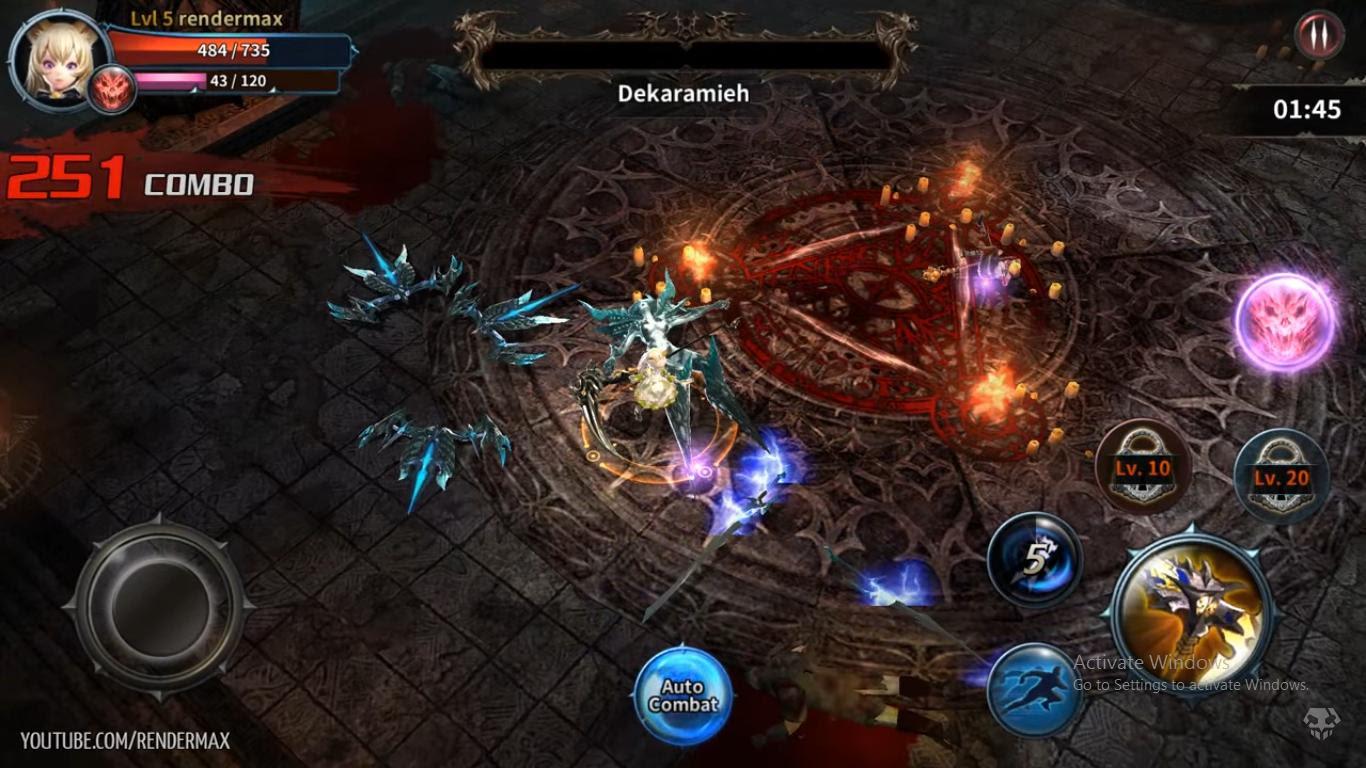 down game Devilian Mobile cho pc