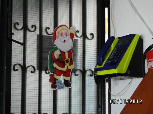 Santa Claus en Julio
