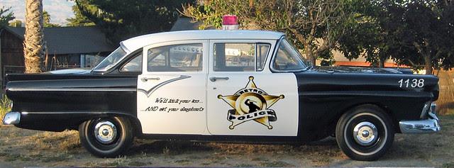Retro Cop Car