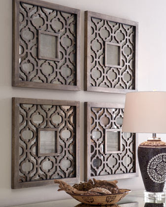 Painted Wood Wall Decor | horchow.com | Painted Wood Wall ...