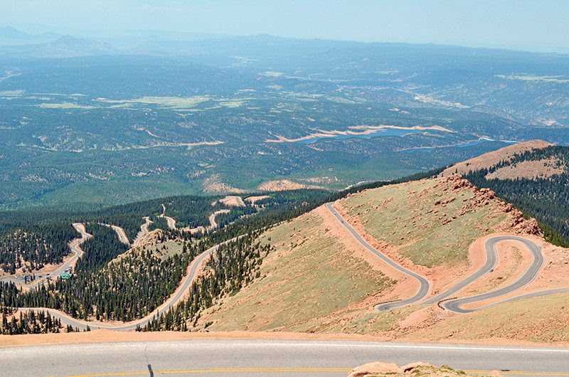 Image result for pics of pikes peak highway